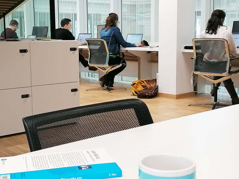 Coworking en bureaux partagés