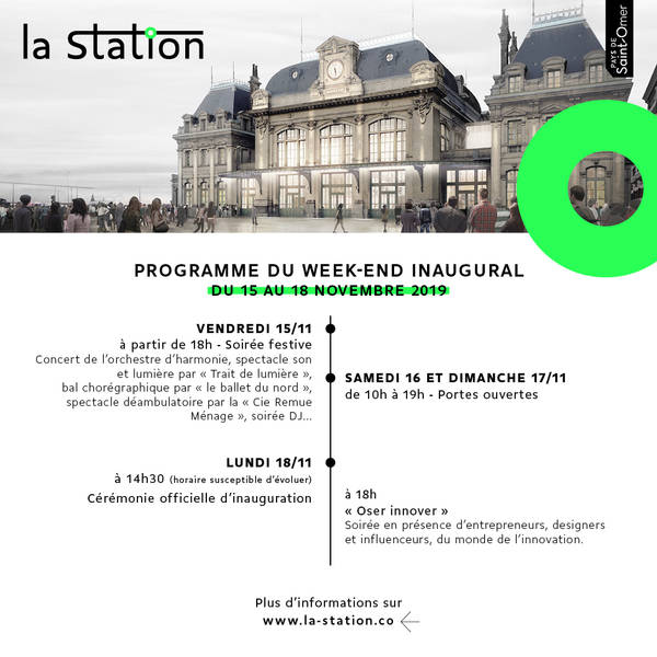 Programme Week end inauguration